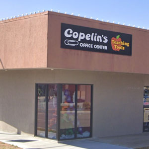 Copelin's storefront for office supplies near oklahoma city